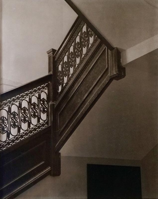 Church 1907, East Staircase